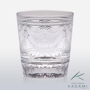 ( カガミクリスタル ) ロックグラス Crystal Crown ( T780-2793 ) クリスタル グラス|hi-select