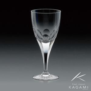 ( カガミクリスタル ) ワイングラス ( ロイヤルライン / K802-72白 ) クリスタル ペア ワイン|hi-select