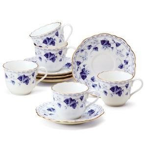 ナルミ / 5客コーヒー碗皿 ( 8128-21286P ) NARUMI 鳴海 カップ&ソーサー|hi-select