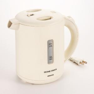 ( HOMESWAN ) 電気ケトル1.0Lアイボリー ( 365-4220r )  贈り物 ギフト|hi-select