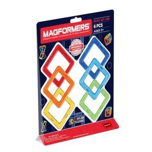 ボーネルンド BorneLund ジムワールド マグフォーマー 正方形セット ( 3歳頃〜 )|hi-select