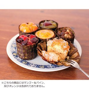 ( HOSHI FRUITS / ホシフルーツ ) フレンチカップケーキ 4個 お菓子 プレゼント お返し ギフト|hi-select