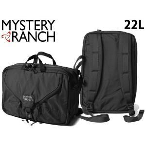 ミステリーランチ メンズ レディース ショルダーバッグ 22L エクスパンダブル 3WAY ブリーフケース MYSTERY RANCH 01-60390005|hi-style