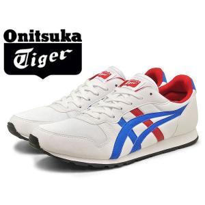 オニツカタイガー スニーカー TEMP-RACER メンズ(男性用) 男性用 ホワイト/ミッドブルー ホワイト/ミッドブルー onitsuka tiger (11170040)|hi-style