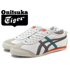 オニツカタイガー スニーカー MEXICO 66 メンズ(男性用) 男性用 ホワイト/グレー ホワイト/グレー onitsuka tiger (11170050)|hi-style