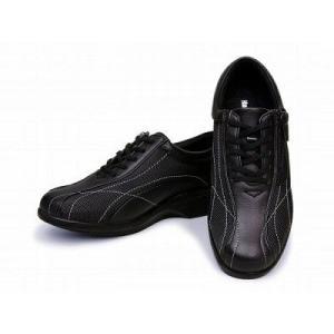 ハバナウォーカー HW0460 ビジネストーニングシューズ ブラック レディース HAVANA WALKER /11270460/|hi-style