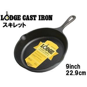 ロッジ フライパン IH対応 約22.9cm ロジック スキレット L6SK3 LODGE 7902...