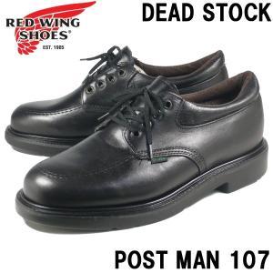 REDWING レッドウィング ブーツ ポストマン 107 メンズ 黒/85300038/|hi-style