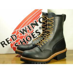 REDWING レッドウィング ブーツ ロガーブーツ 2218-PT99 メンズ 黒/85300060b1-105-100/|hi-style