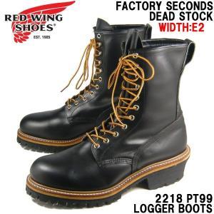 REDWING レッドウィング ブーツ ロガーブーツ 2218-PT99 メンズ 黒/85300062/|hi-style