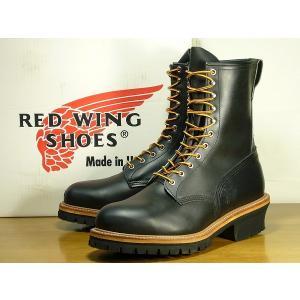 REDWING レッドウィング ブーツ ロガーブーツ 2218-PT99 メンズ 黒/85300062b1-120/|hi-style