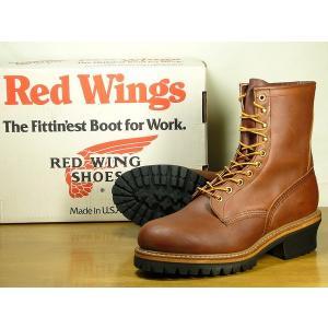 REDWING レッドウィング ブーツ ロガーブーツ 4418-PT91 メンズ 茶/85300078/|hi-style