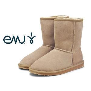 訳あり品 エミュー スティンガー ロー ムートンブーツ W10002 女性用 サンド 23.0cm US6.0 EMU STINGER LO W10002(em674)|hi-style