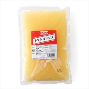 コンソメ スープ キスコ社製 高糖度の国産トマトを使用。トマトのフレッシュな香りと旨みを最大限に引き出したクリアなコンソメ。トマトコンソメ 1kg|hi-syokuzaishitsu