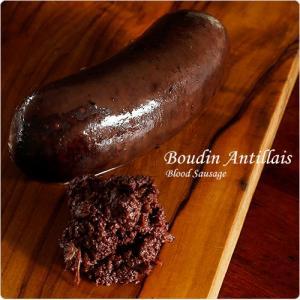 フランス食材バイキングALL999円 ブータンアンティエ(アンティル風豚の血と脂の腸詰) 360g  冷凍のみ  D+1