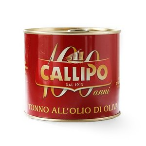 カッリポ トンノ(ツナ) オリーブオイル漬け 620g