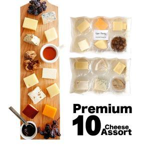 世界のチーズを食べ比べ!といってもこの10種の特徴は食べやすいものを、ある程度は入手しやすいかも。と...