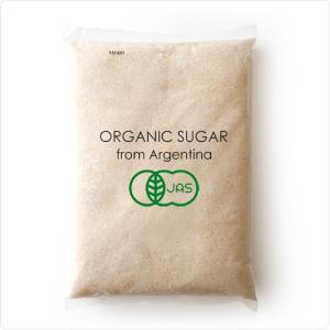 有機JAS認定 有機さとうきび100%使用 オーガニックシュガー 1kg 砂糖 常温/全温度帯可|hi-syokuzaishitsu