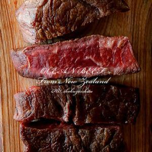幻の部位ミスジ ステーキ 限定30セット 衝撃の赤身の ステーキ ナチュラルビーフ100%!オーシャンビーフの超希少部位ミスジ 150g×2個セット|hi-syokuzaishitsu
