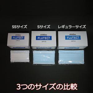 フルテクト抗ウイルスマスク  Sサイズ ケース(30枚)|hiatec|03