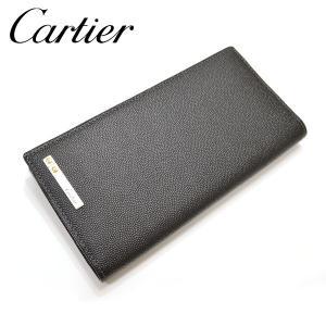 Cartier【カルティエ】長財布[小銭入れ付き]/ジップ付インターナショナルワレット/サントス ドゥ カルティエyct005【L3000769:ブラック】【Y69,120-】