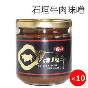 肉みそ 肉味噌 油味噌 石垣牛 200g×10個 石垣牛の肉みそ