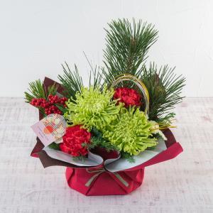 お正月 アレンジメント「松菊」日比谷花壇
