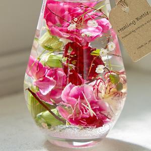 母の日 ハーバリウム  Healing Bottle「Thanks with Flowers」(2本セット)【沖縄届不可】  日比谷花壇|hibiyakadan|03