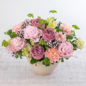 日比谷花壇 アレンジメント「バースデーメロディケーキ」 プレゼント ギフト 結婚祝い 結婚記念日|hibiyakadan
