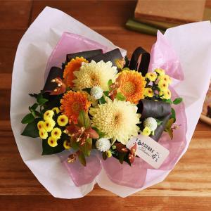 日比谷花壇 【お供え用】O・SO・NA・E flower「10月のオリジナルアレンジメント」 【disney_y】|hibiyakadan