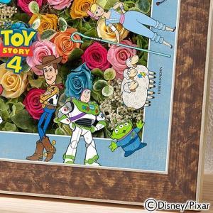 日比谷花壇 ディズニー  フラワーフレームアート「TOY STORY4」 disney_y hibiyakadan 05