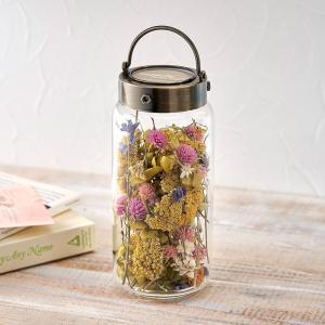日比谷花壇 ドライフラワー Flower bottle「シャン・ド・フルール」 hibiyakadan