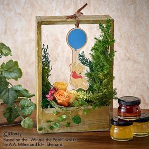 日比谷花壇 プリザーブドフラワー ディズニー 「プーさんと風船(くまのプーさん)」 disney_y|hibiyakadan