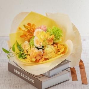 花束 そのまま飾れるブーケ「10月に贈る花言葉」 日比谷花壇