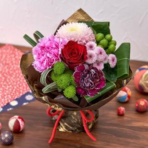 日比谷花壇 花束 そのまま飾れるブーケ「和華」日比谷花壇|hibiyakadan