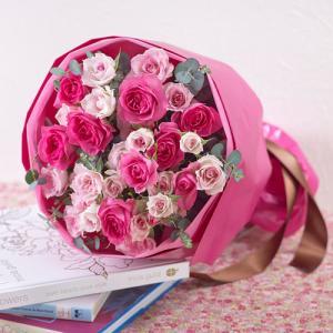 日比谷花壇 プレゼント バラ 花束  「ローズ」|hibiyakadan