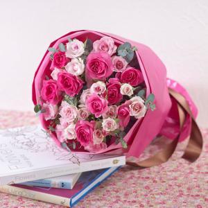 日比谷花壇 プレゼント バラ 花束  「ローズ」|hibiyakadan|04