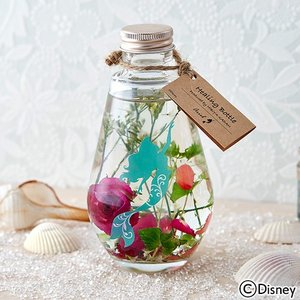 【累計販売数1万個突破!】ディズニー ハーバリウム  Healing Bottle 〜Disney collection〜 「アリエル」 【disney_y】