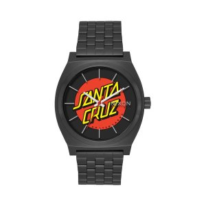 NIXON ニクソン 腕時計 THE TIME TELLER BLACK/SANTA CRUZ【正規販売店】※送料無料※ THE SANTA CRUZ SKATE BOARDS Collection|hicstore