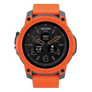 NIXON ニクソン 腕時計 NIXON/THE MISSION ORANGE/GRAY/BLACK...