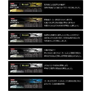 HID バルブ BRIGHT 純正交換HIDバルブ D4K(D4R/D4S兼用) 2本1セット トヨタ 車に最適|hid-led-carpartsshop|06