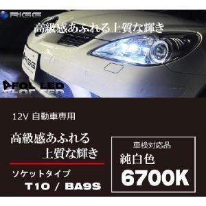 RIGG AFOL T10 17連LED ハイクオリティーLED 本当の輝きを求める方へ 2個1セット|hid-led-carpartsshop