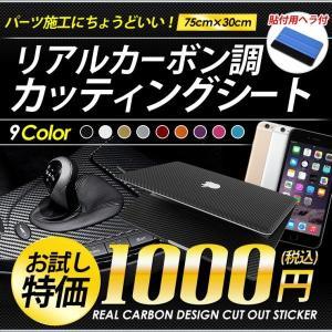 おためしサイズ1000円ポッキリ!立体リアルカーボン調 カッ...