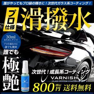 トライアルセット ガラス系コーティング剤 1回分 おためし 車 成長系 コーティング バーニッシュ 持続6カ月 超光沢&超撥水 hid-led-carpartsshop