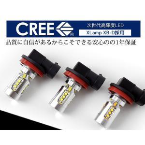 フォグランプ LED 100W級 H8 H11 H16 HB3 HB4 対応 CREE LED採用 2個セット|hid-led-carpartsshop|04