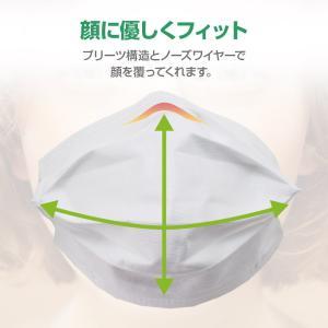 マスク 小さめ 50枚+1枚 子供用 オメガプリーツ 3層構造フィルター 51枚 使い捨てマスク 不織布マスク【送料無料】|hid-shop|07