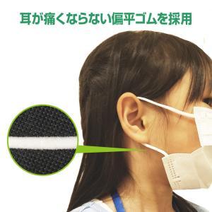 マスク 小さめ 50枚+1枚 子供用 オメガプリーツ 3層構造フィルター 51枚 使い捨てマスク 不織布マスク【送料無料】|hid-shop|08
