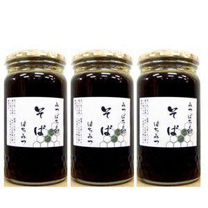 北海道産そば蜂蜜 600g×3本 (送料無料)|hida-mino-furusato