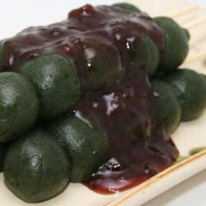 草だんご100本セットつぶあん付(DAY-GC)(冷凍)(送料無料)|hida-mino-furusato