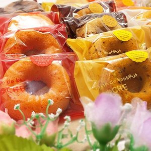 人気洋菓子店の焼菓子セット「焼きドーナツセット24個入」(送料無料)|hida-mino-furusato|02